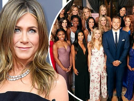 Jennifer Aniston loves talking about The Bachelor when she gets her hair done, is 'definitely a fan'