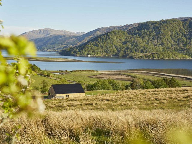 Cool stay of the week: a Scandi-style hideaway with views of Eilean Donan Castle