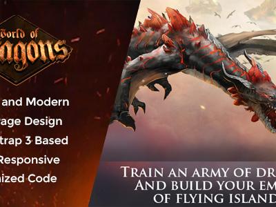 Dragon Game - War Gaming Template (Technology)