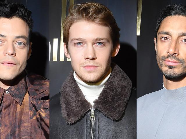 Rami Malek, Joe Alwyn, & Riz Ahmed Step Out for Dunhill Fashion Show in Paris