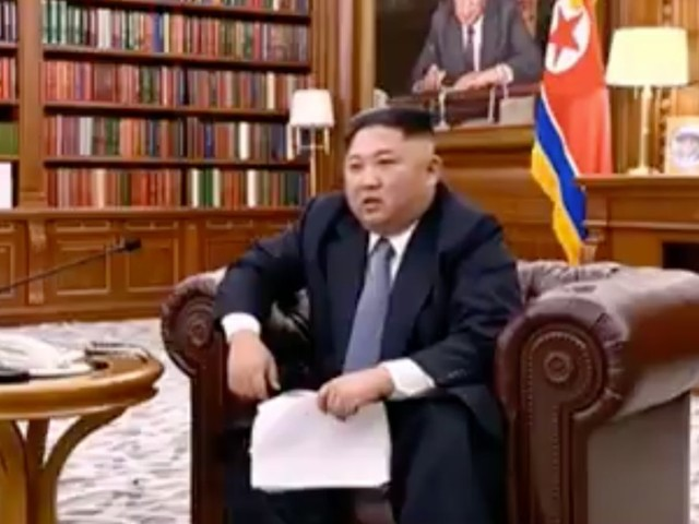 In a speech 2 months ago, Kim Jong Un hinted at military escalation if Trump doesn't give him the sanctions relief he demanded