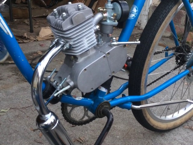 49cc Motorized Bike Build And Review - YouTube