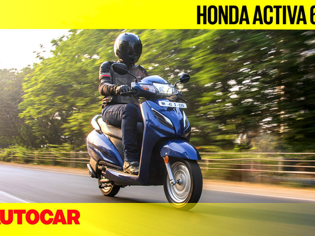 Review: Honda Activa 6G video review