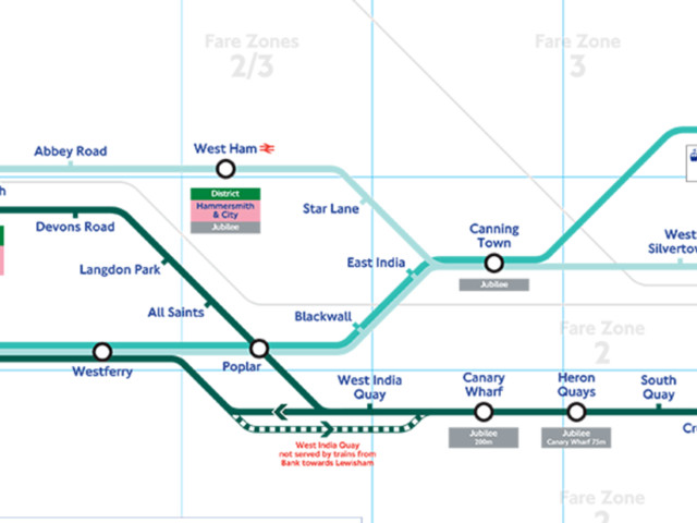 DLR Map Released To Celebrate Line's 30th Birthday