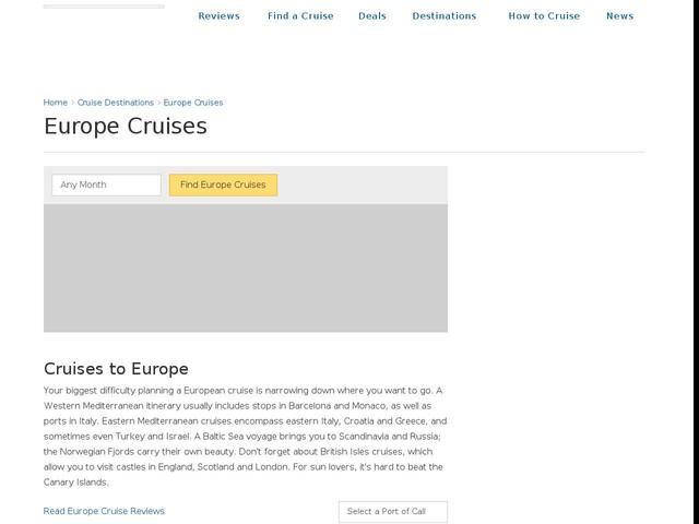 5 Best Europe Cruises 2017: Cruises to Europe & Vacations on Cruise Critic