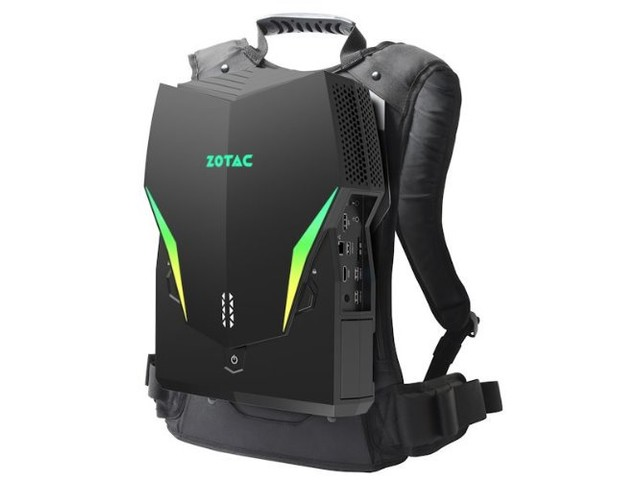 ZOTAC VR Go 3.0 wearable PC enters third generation