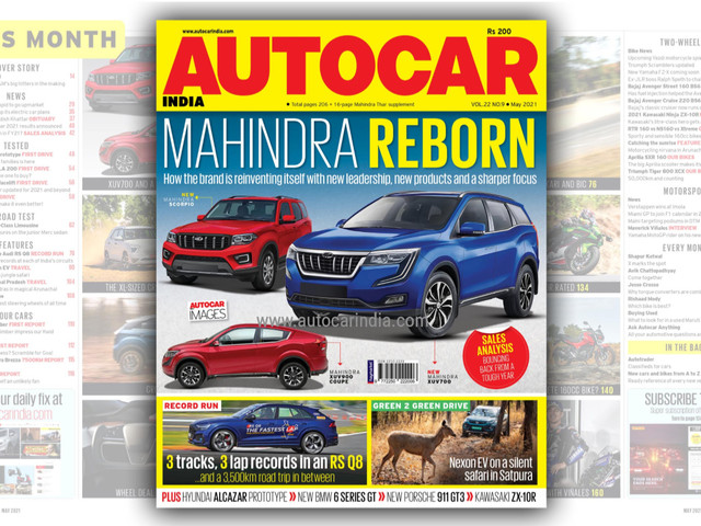 Autocar India May 2021 issue on stands