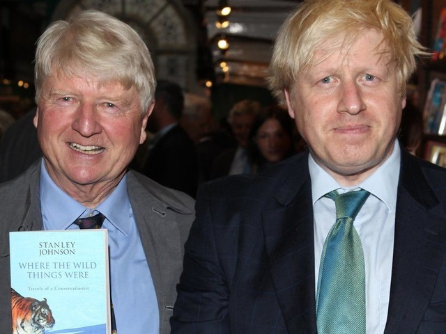 'I'm A Celebrity': Boris Johnson's Dad Stanley Admits He Failed To Tell Foreign Secretary He Was Doing Show