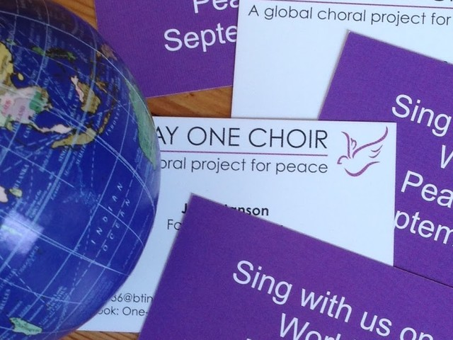 A very big noise: ONE DAY ONE CHOIR