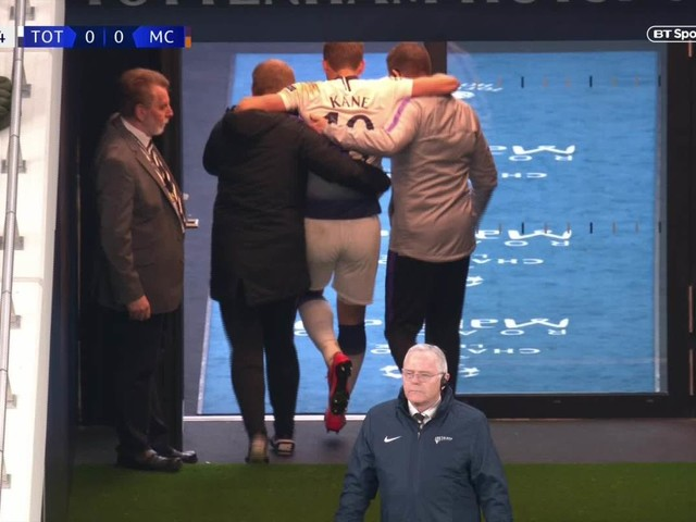Spurs star Harry Kane could be ruled out for season after nasty ankle injury against Man City