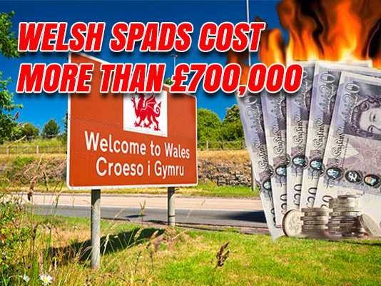 Welsh SpAds Cost Taxpayer More Than £700,000