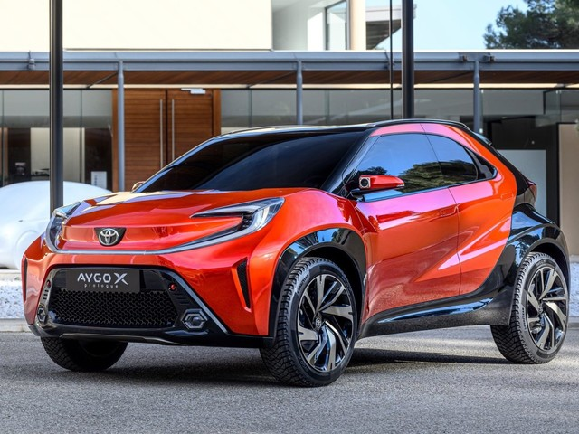 Toyota previews Aygo X Prologue compact crossover