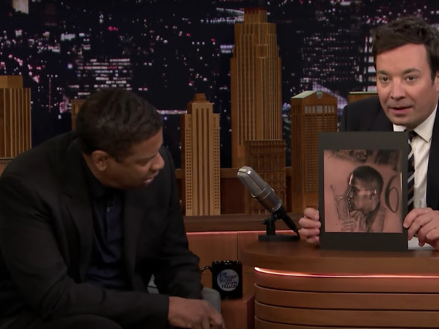 Denzel Washington Has One Big Question After Seeing Drake's Tattoo Of His Face