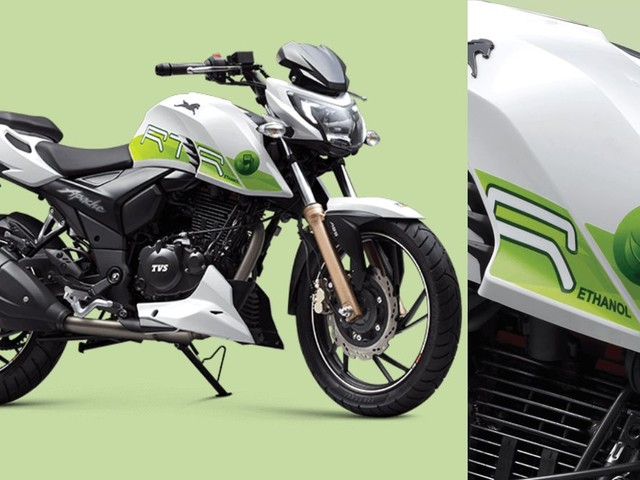 India's First Ethanol-Powered Bike Launched At Rs 1.20 Lakh