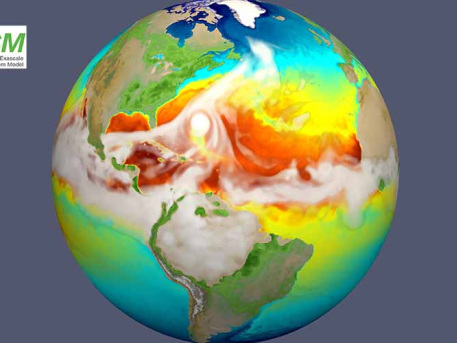New E3SM exascale modeling system for earth simulation released to scientific community