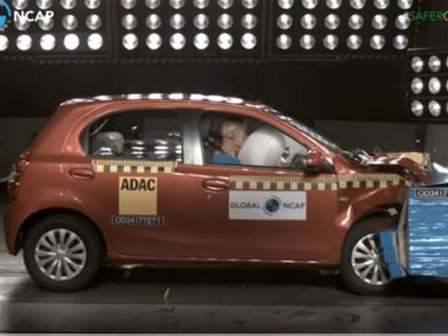 Made In India Toyota Etios Liva Global NCAP Score Is 4 Stars