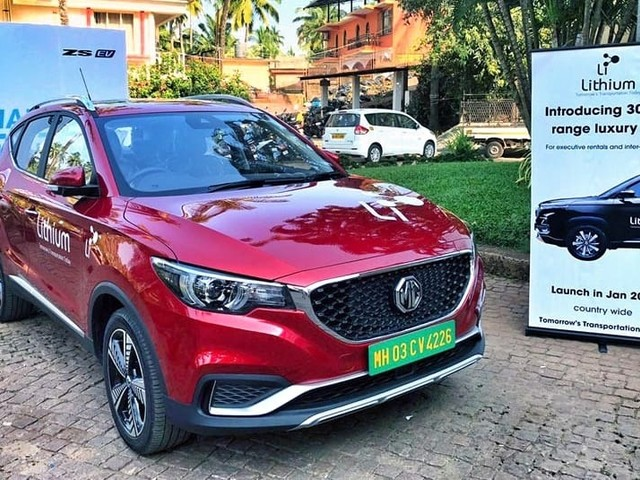 MG ZS EV to be available via self-drive rentals from January 2020