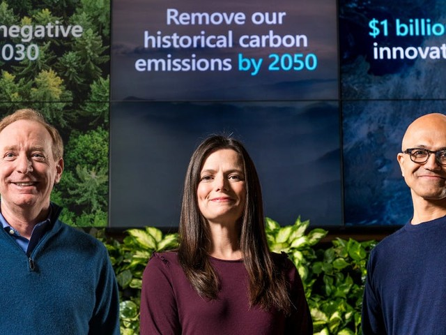 Microsoft's 'trailblazing' plan to solve climate change will create a lucrative new market, Morgan Stanley says