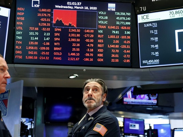 US stocks head for 4th straight weekly decline as virus cases spike