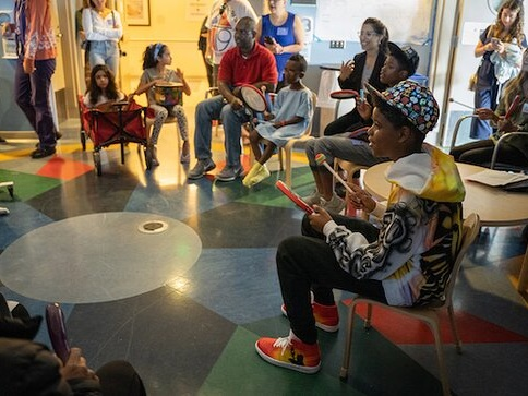 The Lion King's JD McCrary Visits UCLA Mattel Children's Hospital