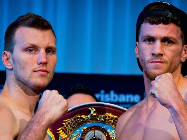Jeff Horn vs Gary Corcoran LIVE round-by-round updates from world title fight in Brisbane