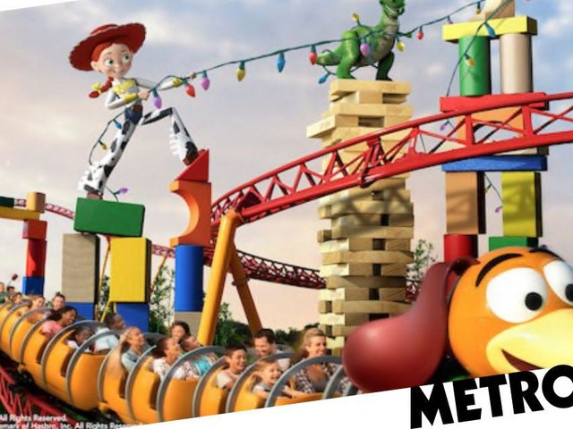 Disney's Toy Story Land announces opening date and theme park rides including the Slinky Dog Dash