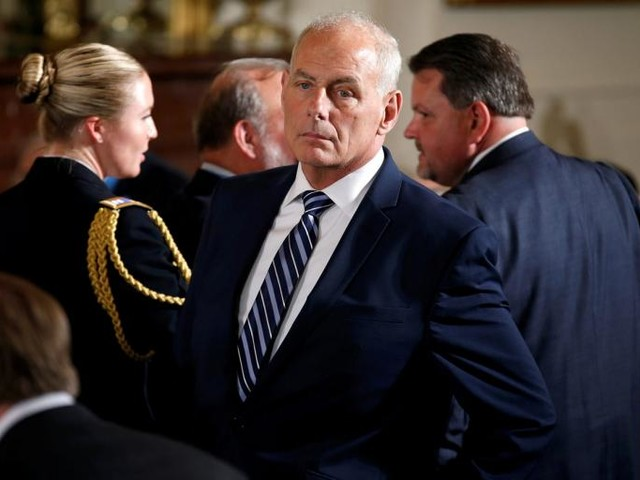 The Selective Vigilance of John Kelly
