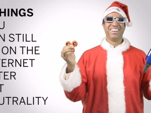 Watch: FCC Chairman Ajit Pai mocks Net Neutrality supporters