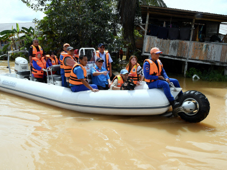Flood situation eases except in Pahang