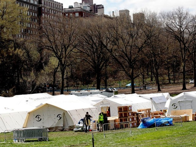 Christian Relief Comes to Central Park