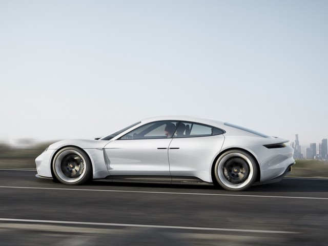 Production Porsche Mission E Priced Around $85,000 in 2019; 80-percent Charge Takes 15 Minutes