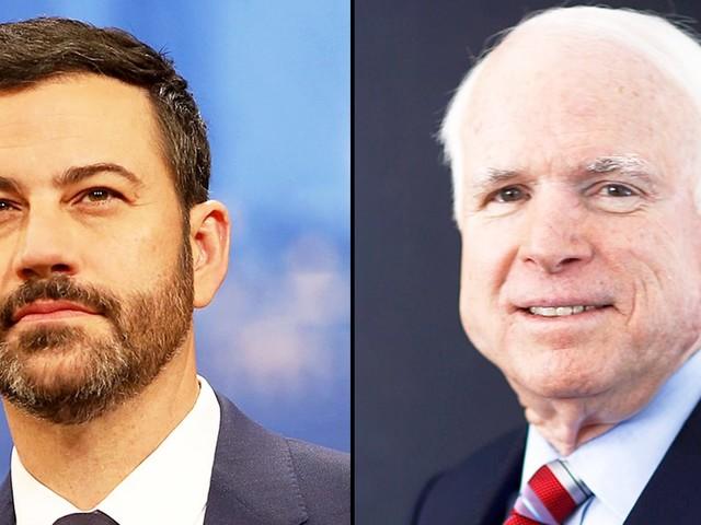 Jimmy Kimmel: John McCain Is a 'Hero' for Opposing ObamaCare Repeal Bill