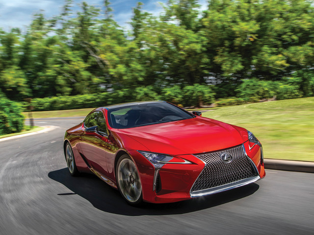 Review: Lexus LC500, LC500h review, test drive
