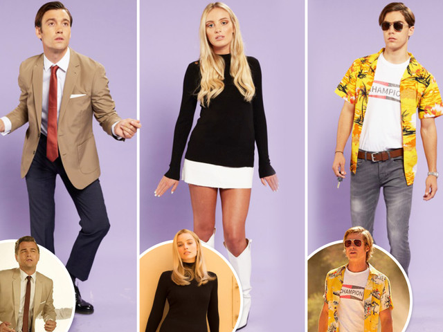 Recreate Margot Robbie, Leonardo DiCaprio and Brad Pitt's 1960s movie looks from Once Upon A Time In Hollywood