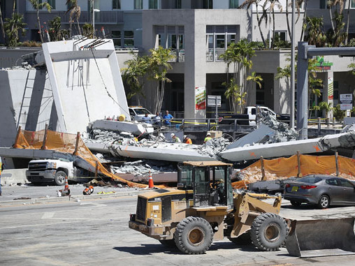 The Lead Engineer Of The Florida International University Bridge Reported Cracks Days Before The Collapse