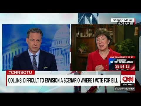 Collins Dooms Republican Health Care Repeal After CBO Warns About Insured Losses
