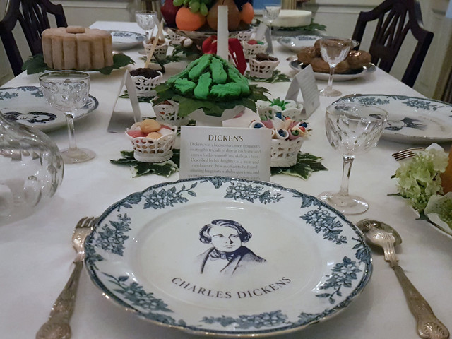 Dinner with the Charles Dickens Museum