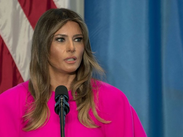 Melania Trump gave a good speech on bullying. The only problem? Her husband is a bully.