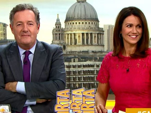 Piers Morgan ridicules National Reality TV Awards as Susanna Reid scoops top prize: 'It's not exactly the Oscars'