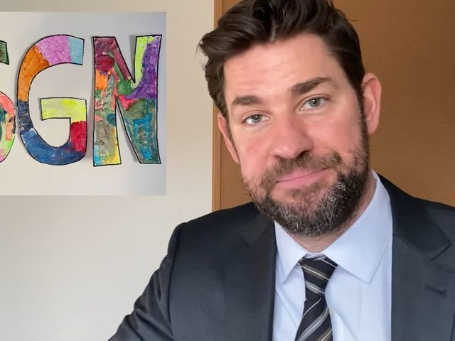 "John Krasinski Launches ""Some Good News"" with the Help of Steve Carell and Twitter"