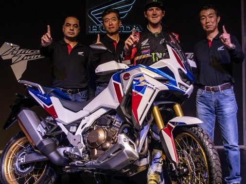 The 2020 Honda Africa Twin launched in India at Rs. 15.35 lac, Gets Manual Transmission