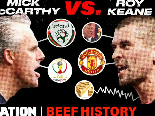 Roy Keane's World Cup beef with Mick McCarthy got him kicked off the Irish National Team