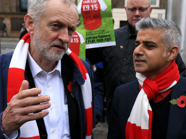 Sadiq Khan And Andy Burnham Face Axe From Labour Conference As Corbyn Gives Members More Say