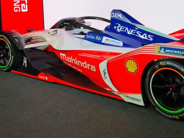 Mahindra Racing's Gen2 Formula E car makes India debut