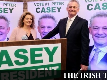Peter Casey refuses to withdraw Traveller comments despite condemnation