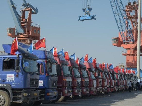 China has a grand plan to dominate world trade