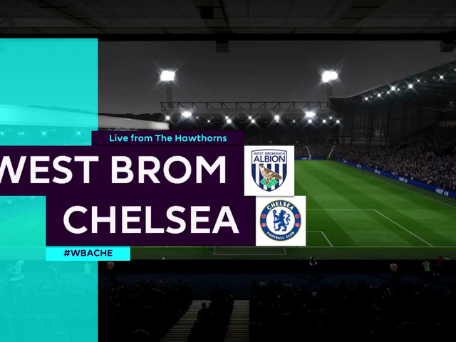Let's play FIFA 18: West Brom vs. Chelsea