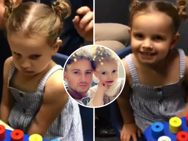 Incredible moment deaf girl, 3, hears mum's voice again after doctors fit her with hearing aids