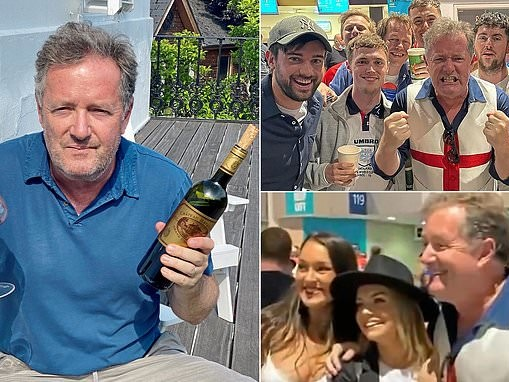 The vaccine may well have saved my life: PIERS MORGAN reveals he caught Covid at Euros final