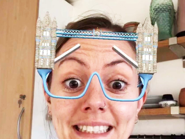 Turn Your Face Into Tower Bridge With This New Instagram Face Filter